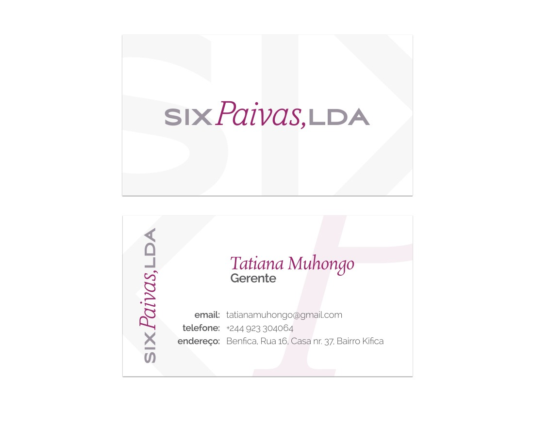 business cards Cape Town