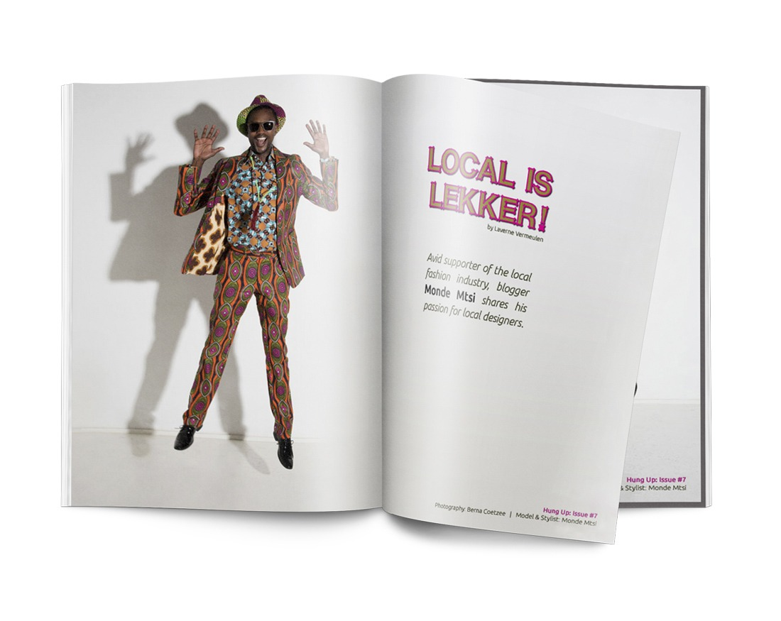 magazine editorial and layouts