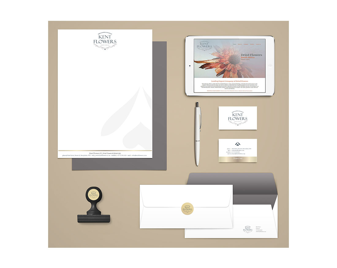 brand ID design, logo design, business card design