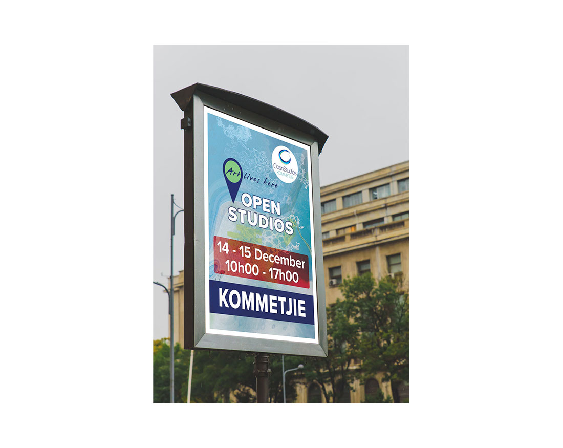 Outdoor poster advertising